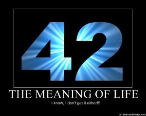42 Meaning of Life
