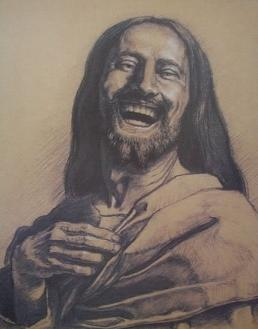 Laughing Jesus